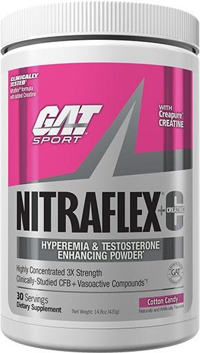 NITRAFLEX CREATINE - COTTON CANDY - 30 SERVINGS