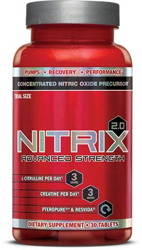 Nitrix 2.0 By BSN, 30 Tabs