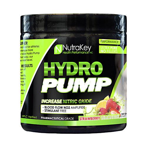 NutraKey Hydro Pump, Strawberry Lemonade, 30 Servings