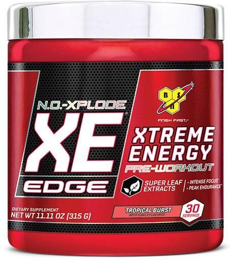 NO Xplode XE Edge By BSN, Tropical Burst, 30 Servings