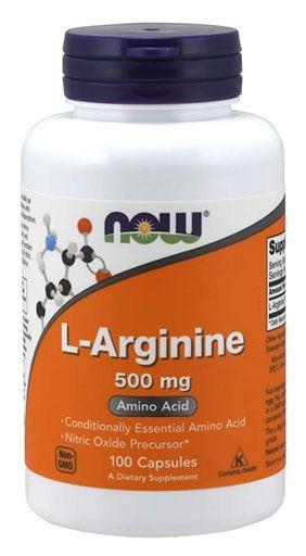 NOW Sports, L-Arginine, 500 mg, 100 Caps