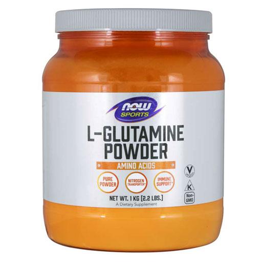 NOW L-Glutamine Powder, 1 kg (35.3 oz),