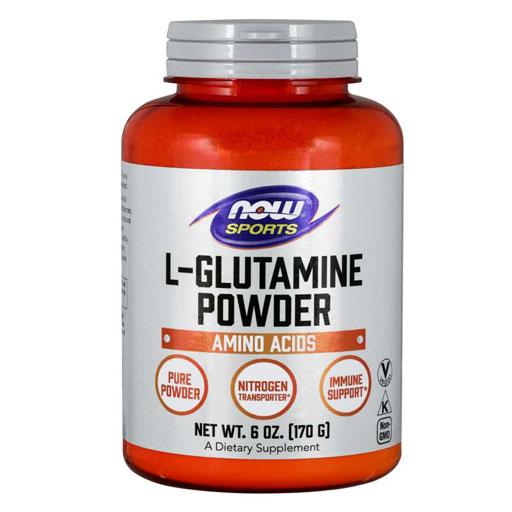 NOW L-Glutamine - 6 oz.