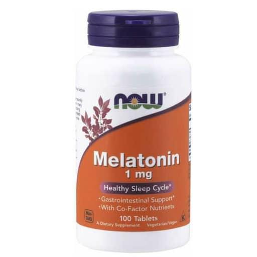 NOW Melatonin, 1 mg, 100 Tabs