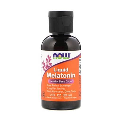 NOW Melatonin Liquid, 3 mg 2 fl. oz.