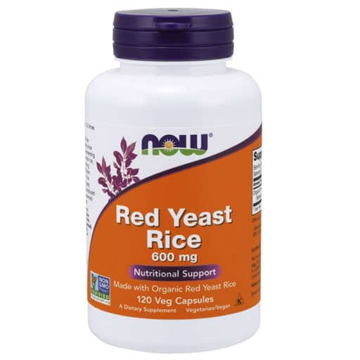 Red Yeast Rice By NOW, 600 mg, 120 Veg Caps