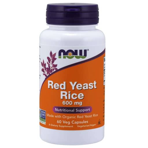 Red Yeast Rice By NOW, 600 mg, 60 Veg Caps