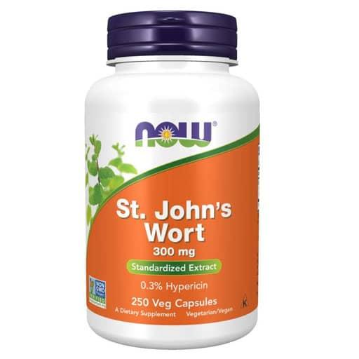 NOW St. John's Wort Extract - 300 mg - 250 Veg Caps