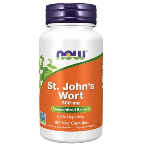 NOW St. John's Wort Extract - 300 mg - 100 Veg Caps