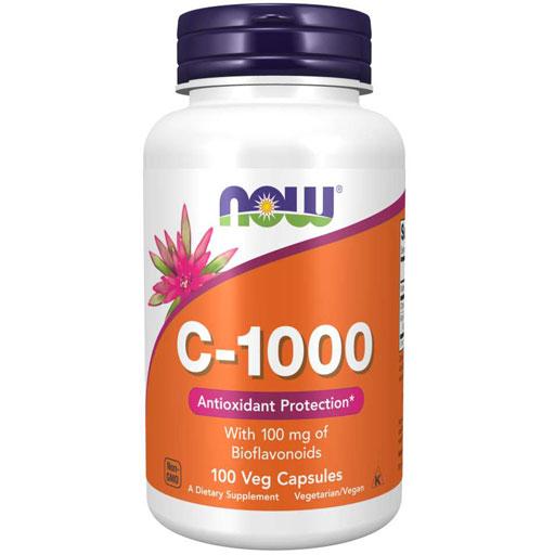 NOW, Vitamin C-1000, 100 Veg Caps