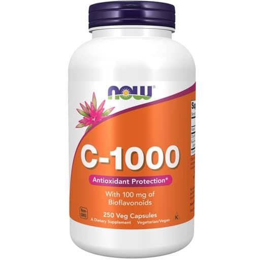 NOW, Vitamin C-1000, 250 Caps