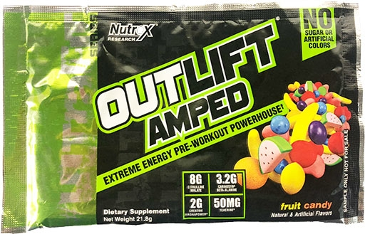 Outlift Amped - Fruit Candy - Sample