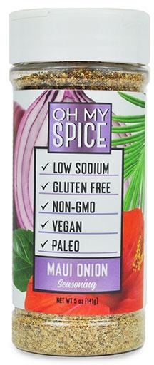 Oh My Spice, Maui Onion Seasoning, 5 oz