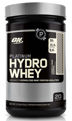 Hydro Whey Protein By Optimum Nutrition, Cookies & Cream 1.75lb