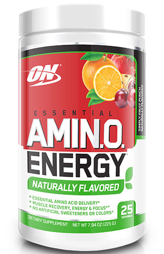 Amino Energy Natural - Simply Fruit Punch - 25 Servings