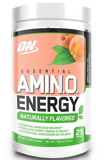 Amino Energy Natural - Simply Peach Tea - 25 Servings