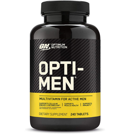 Opti-Men - MultiVitamin - 240 Tabs