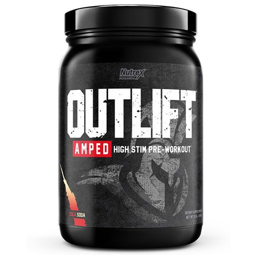 Outlift Amped - Cola Soda - 20 Servings