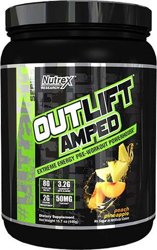 Outlift Amped - Peach Pineapple - 20 Servings