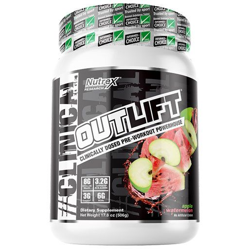 Outlift - Apple Watermelon - 20 Servings