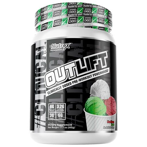 Outlift - Italian Ice - 20 Servings