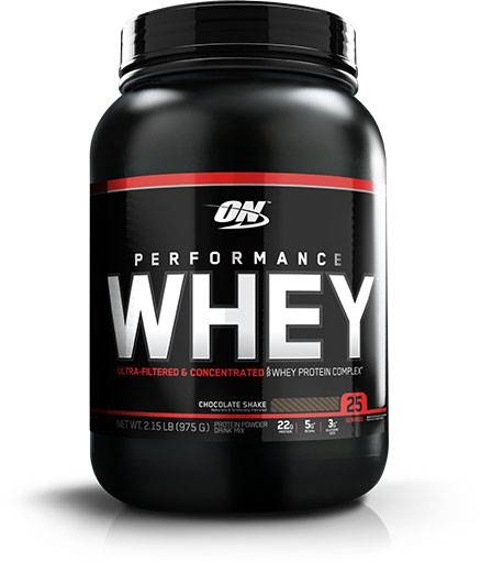 Performance Whey Protein by Optimum Nutrition, Chocolate 25 Servings