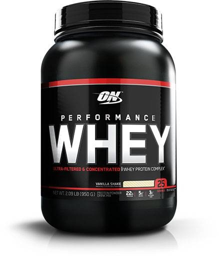 Performance Whey Protein by Optimum Nutrition, Vanilla 25 Servings