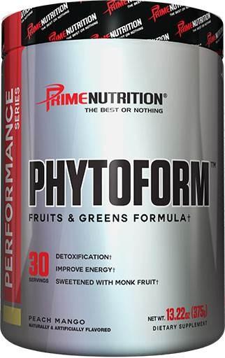 Phytoform By Prime Nutrition, Peach Mango, 30 Servings