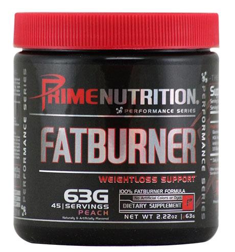Fat Burner By Prime Nutrition, Peach, 45 Servings
