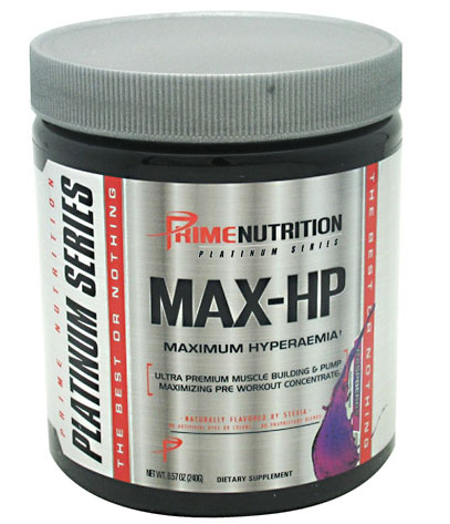 Max-HP By Prime Nutrition, Raspberry, 30 Servings