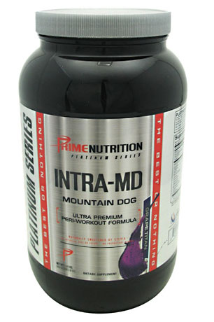 Intra-MD By Prime Nutrition, Grape Titan, 30 Servings