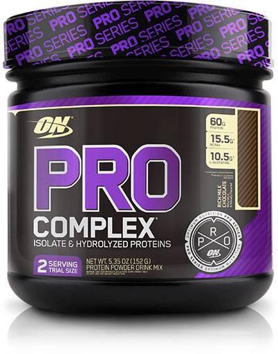 Pro Complex, By Optimum Nutrition, Rich Milk Chocolate, 2 Servings,