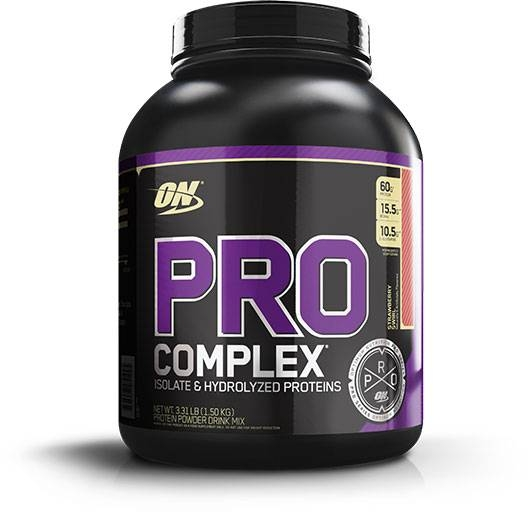 Pro Complex By Optimum Nutrition, Strawberry 20 Servings