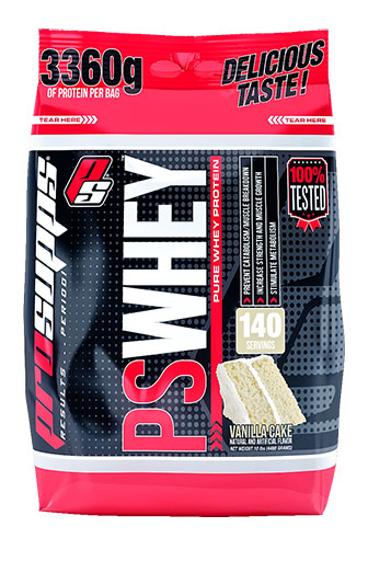 PS Whey Protein By Pro Supps, Vanilla Cake 10lb