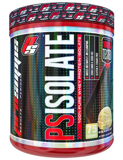 PS Isolate, Protein, By Pro Supps, Vanilla, 4lb