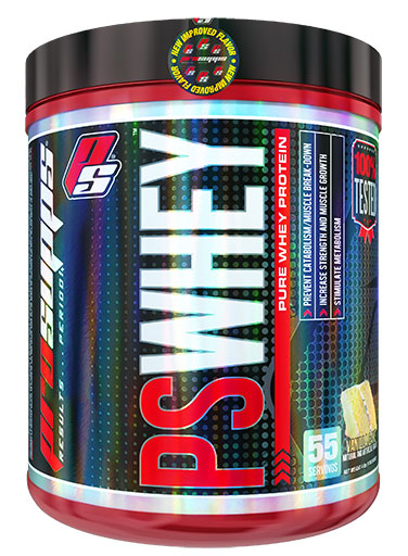 PS Whey, By Pro Supps, Vanilla Cake, 4lb