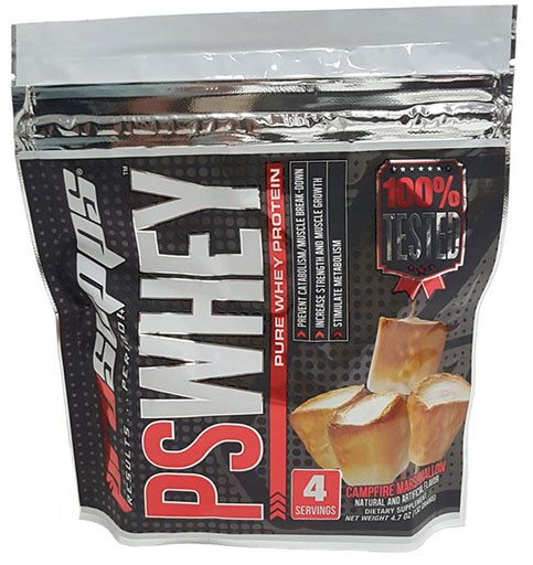 PS Whey, By Pro Supps, Campfire Marshmallow, 4 Servings