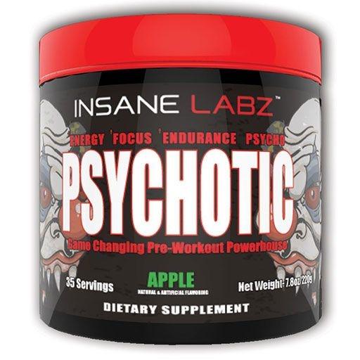 PSYCHOTIC Pre Workout - Apple