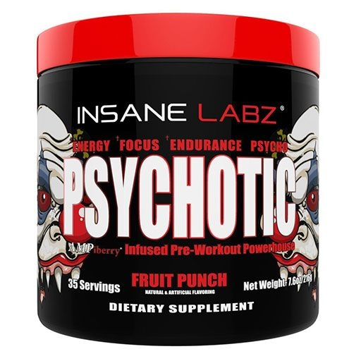 PSYCHOTIC Pre Workout - Fruit Punch
