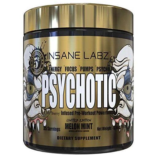 Psychotic Gold - Melon Mint - 35 Servings