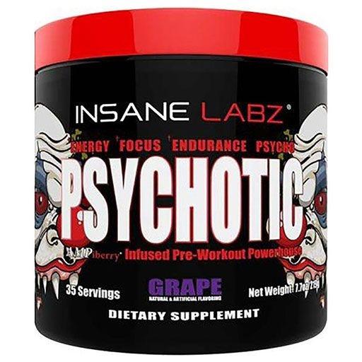 PSYCHOTIC Pre Workout - Grape