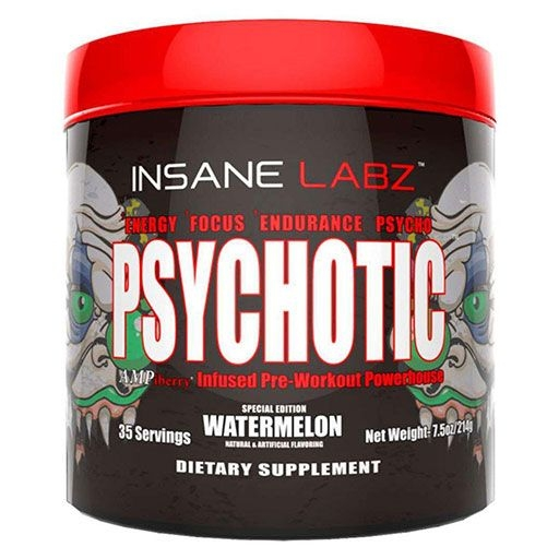 PSYCHOTIC Pre Workout - Watermelon