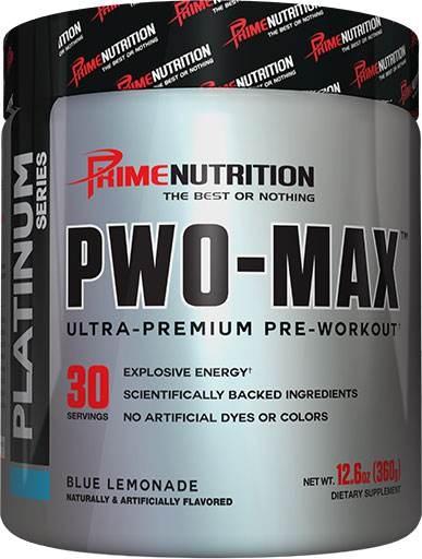 PWO Max - Blue Lemonade - 30 Servings