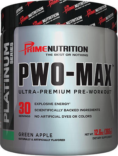 PWO Max - Green Apple - 30 Servings