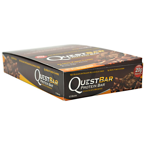Quest Bars, Chocolate Brownie 12/Box by Quest Nutrition