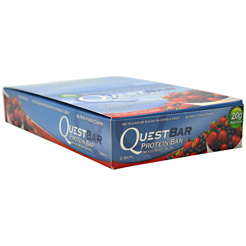 Quest Bars, Mixed Berry Bliss 12/Box by Quest Nutrition