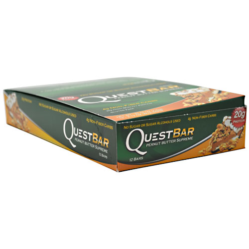 Quest Bars, Peanut Butter Supreme 12/Box by Quest Nutrition
