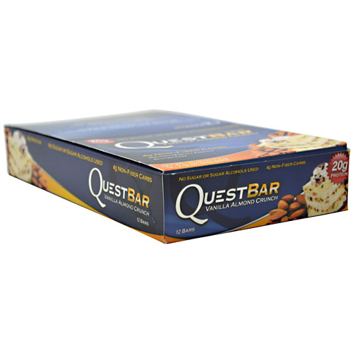 Quest Bars, Vanilla Almond Crunch 12/Box by Quest Nutrition