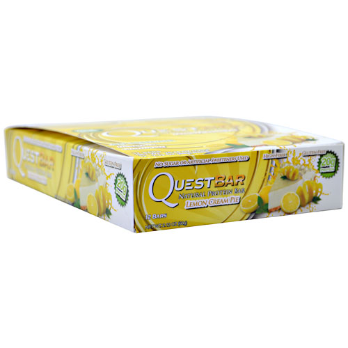 Quest Bars, Natural Lemon Cream Pie 12/Box by Quest Nutrition