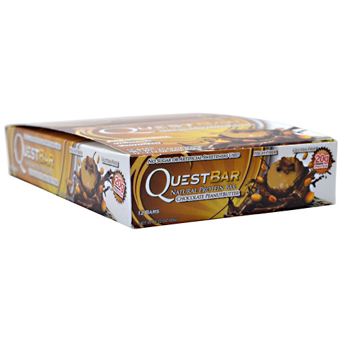 Quest Bars, Natural Chocolate Peanut Butter 12/Box by Quest Nutrition